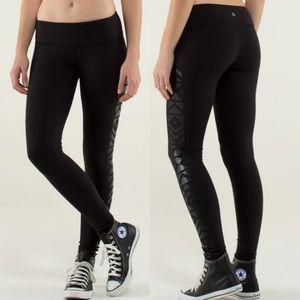 Lululemon Wunder Under Tights Leggings Luon Black